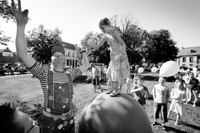 © Grégoire De Poorter - clown - kinderen